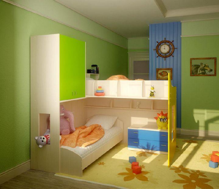 Оформление комнаты для детей