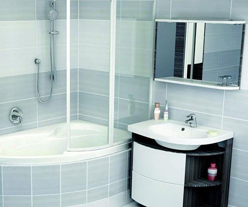 Мебель для тесной ванной
