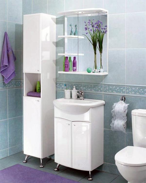 Мебель для тесной ванной комнаты